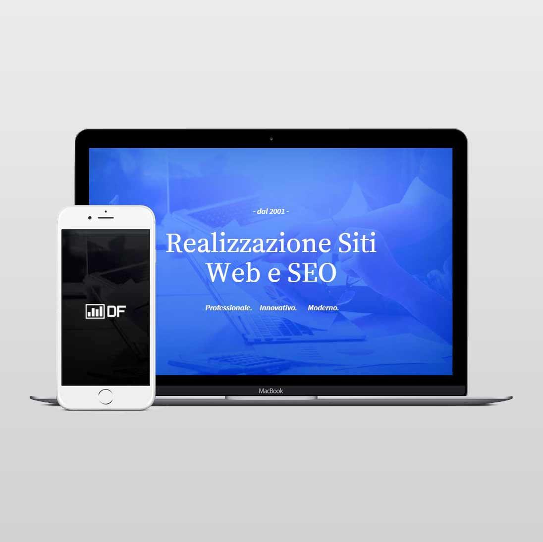 Realizzazione siti web Roma - DigitalFingers